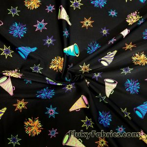 Cheerleading Nylon Spandex Print  Fabric