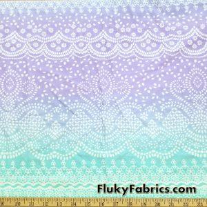 Henna Style Print Nylon Spandex