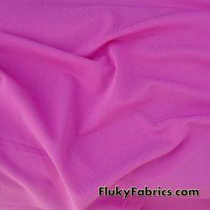 Fuchsia Solid Nylon Spandex