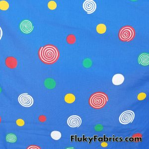 Primary Colors Poly Cotton Brushed