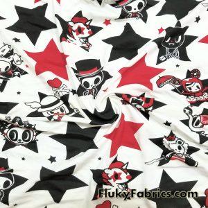 Tokidoki Cotton Jersey  Fabric