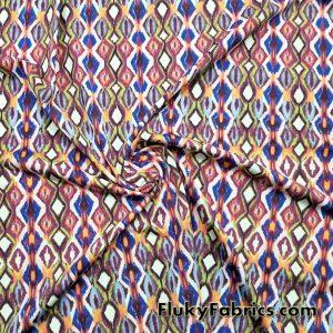 Tribal Diamonds Swimwear Nylon Spandex