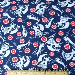 Sea Men and Whales Boardshort / Microfiber