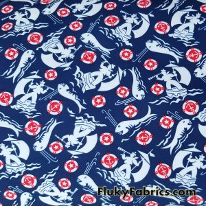 Sea Men and Whales Boardshort / Microfiber  Fabric