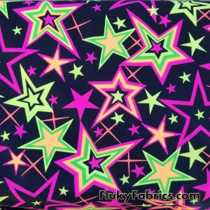 Colorful Stars Swimwear Nylon Spandex