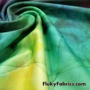 Colorful Smoke Swimsuit Nylon Spandex