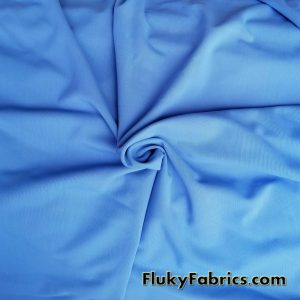 Cornflower Blue Solid Nylon Spandex