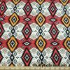 Ethnic Tribal Lightweight Rayon Spandex Jersey