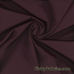 Dark Wine Solid Nylon Spandex