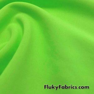 Grass Solid Nylon Spandex Swimsuit Fabric