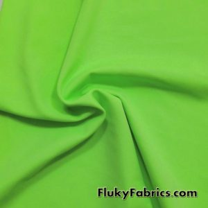 Grass Solid Nylon Spandex Swimsuit Fabric