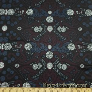 Beautiful Dotty Abstract Swimsuit Nylon Spandex Fabric