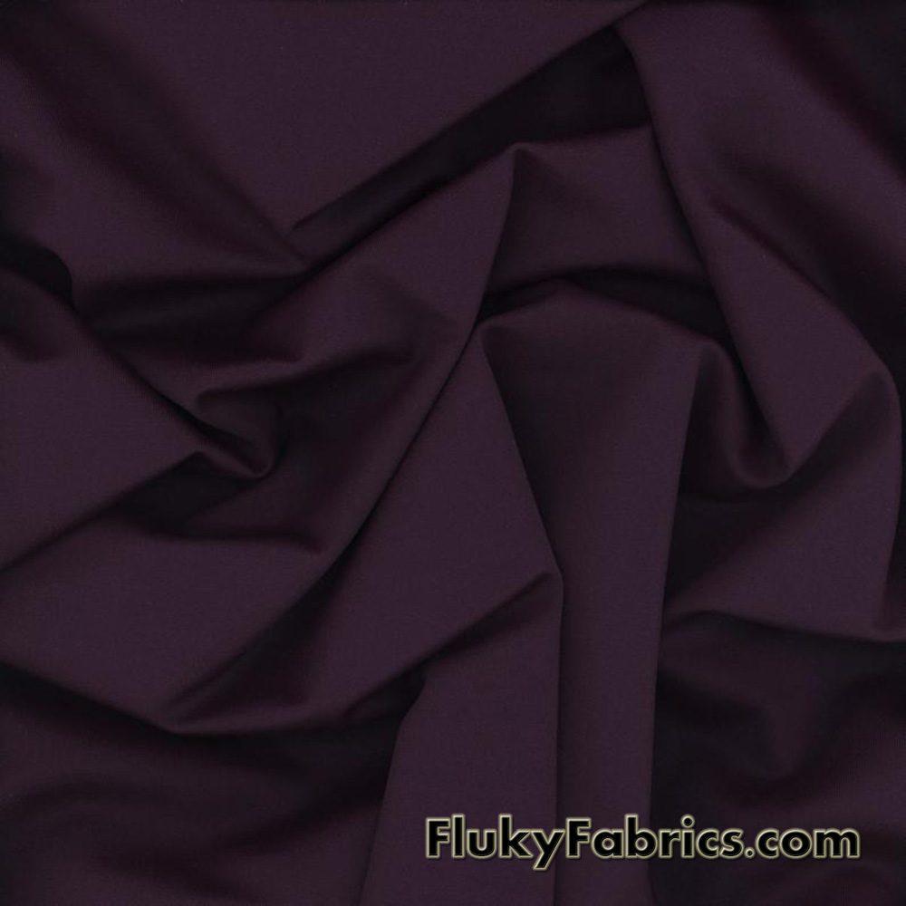 Vigneto Color Solid Nylon Spandex Fabric  Fabric