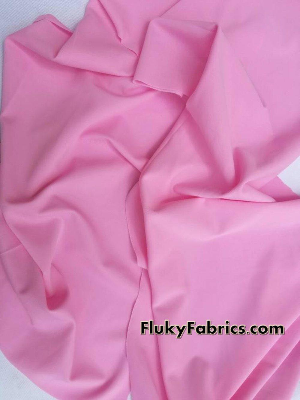 Pink Nylon Spandex Swimsuit Fabric  Fabric