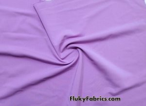 Orchid Solid Nylon Spandex Fabric