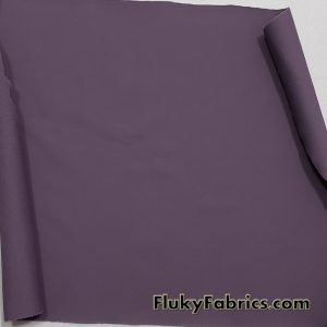 Mature Grape Purple Color Solid Nylon Spandex Swimwear Fabric