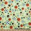 Colorful Scattered Cute Hearts on Hearts Cotton Jersey Apparel Fabric  Fabric