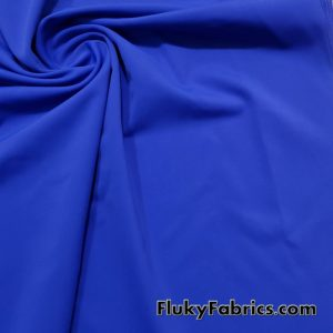 Zaffre Blue Solid Nylon Spandex Fabric