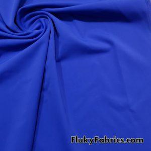 Zaffre Blue Solid Nylon Spandex Fabric