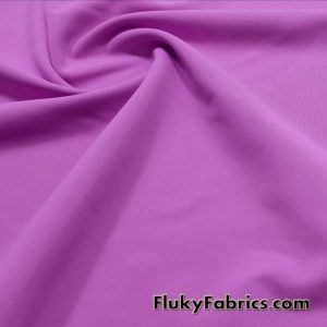 Deep Mauve Solid Nylon Spandex Swim Wear Fabric