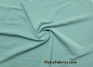 Laurel Green Solid Nylon Spandex Swimwear Fabric