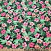 Beautiful Floral Hawaiian Tropical Print UV/Blacklight Reactive Nylon Spandex Fabric