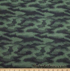 Honeycomb Camouflage Nylon Spandex Swimwear Fabric