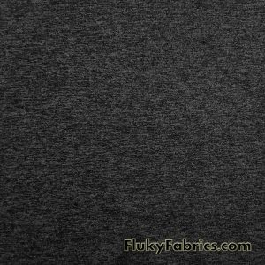 Charcoal and Black Marl Poly Spandex High Performance Athletic/Active Wear Fabric
