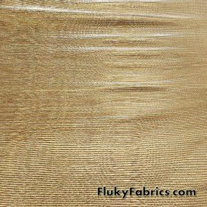 Accordion Pleated Gold Metallic Lame Fabric 44″ Wide