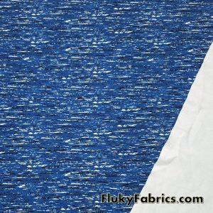 Stretch Abstract Blue Noise Print Swimsuit, Swimwear, Bikini Nylon Spandex Fabric  Fabric